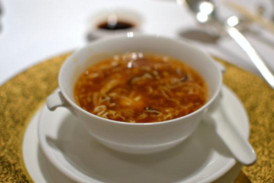 Shang Palace Paris - Soupe hot pot