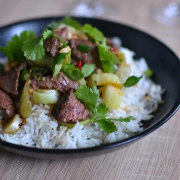Bœuf sauté au wok : le plat asiatique trop simple et trop bon