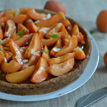 Tarte abricots et amandes : la recette facile et faite maison