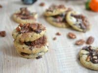 Recette cookies chocolat et noix de pécan moelleux