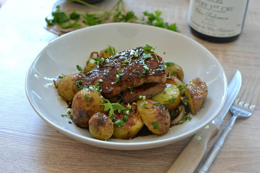 Foie de veau persille persillade recette