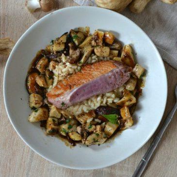 Magret de canard aux cèpes poêlés : recette festive et gourmande