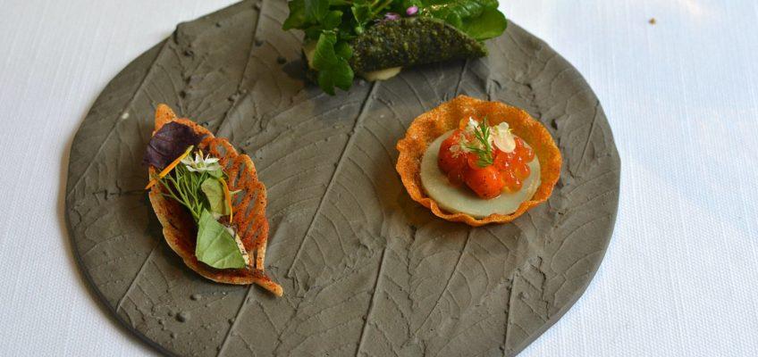 Hisa Franko restaurant slovénie apéritifs