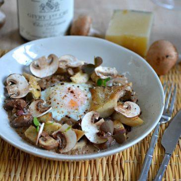 Oeufs parfaits aux champignons : la recette gastronomique, comme un chef !