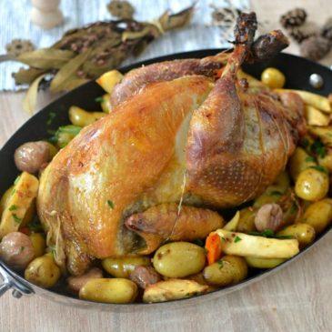 Pintade farcie aux marrons : la recette de Noël bien moelleuse