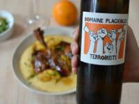 Accords mets et vins vins orange