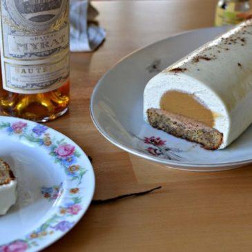 Bûche de Noël vanille caramel : la recette facile et faite maison